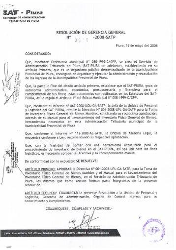 RGG 00540-2008 Directiva de inventario fisico general de bienes ...