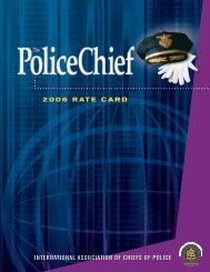 4206 IACP Rate Card.indd - Police Chief Magazine