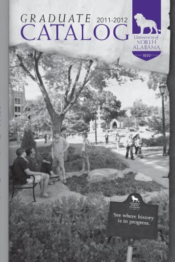 Graduate Catalog - University of North Alabama