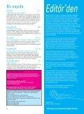Evet Deyin, Kış 2008 - UNICEF Türkiye - Page 2