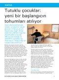 Evet Deyin, Kış 2008 - UNICEF Türkiye - Page 3