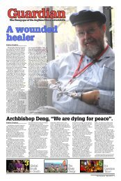 A wounded healer - Anglican Overseas Aid