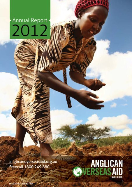 Annual Report - Anglican Overseas Aid