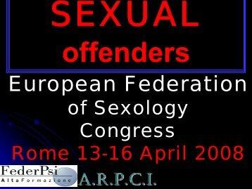 Sexual offenders - Maria Beatrice Toro