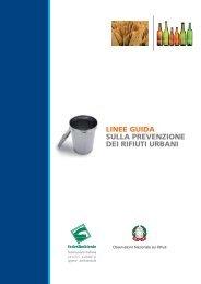 linee guida sulla prevenzione dei rifiuti urbani - Federambiente
