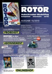 VORSTELLUNG - Pegasus Modellsport