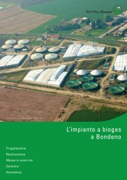 Fact Sheet - EnviTec Biogas Italia