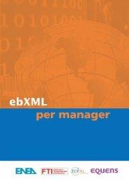 ebXML per manager - Enea
