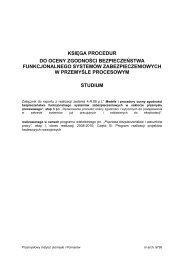 Księga procedur do oceny zgodności bezpieczeństwa ... - Piap