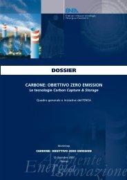 Carbone: Obiettivo Zero Emission - Enea