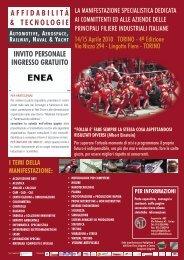 Programma e invito - Enea
