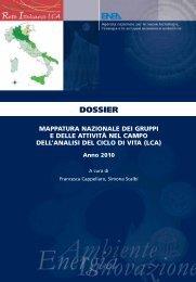 Dossier Mappatura 2010 - Enea
