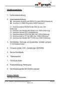 Parallel-Anzeigetableau (PAT) Handbuch ... - regraph GmbH - Page 2