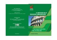Programma preliminare - Geriatriaonline