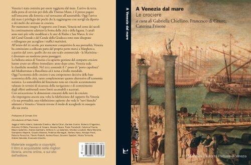 A venezia dal Mare. Prefazione di Corrado Clini e ... - Porto di Venezia
