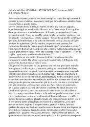 estratto per il Foglio - Il blog di Costanza Miriano