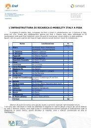Ztl E-mobility Italy a Pisa - 1 luglio 2010 - Comune di Pisa
