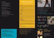 Educare alla Vita Vivere la Fragilita' - Arcidiocesi di Torino
