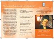 Percorso di Spiritualità Cottolenghina - Cottolengo