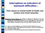 Interruptions - l'Ospedale nel Terzo millennio