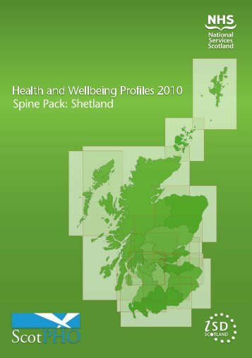 Spine Chart Pack - Scottish Public Health Observatory