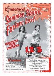50 Jahre Kinderlandheim - Kinderland Steiermark