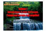 il ciclo dell'acqua, l'acqua nel terreno e gli acquiferi (file pdf