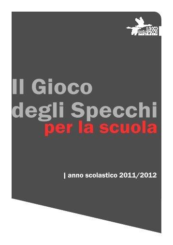 | anno scolastico 2011/2012 - Il gioco degli specchi