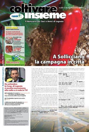 Numero 7 - 2011 - Autunno - Cooperativa Agricola di Legnaia