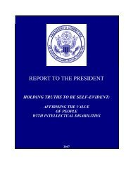 report to the president - Administration for Children and Families