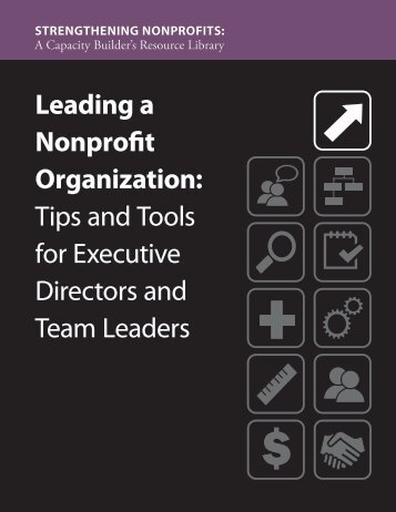 Leading a Nonprofit Organization - Administration for Children and ...