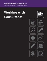 Working with Consultants - Administration for Children and Families