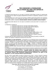 Federazione Strade dei Vini e dei Sapori - BuonaLombardia.it