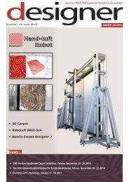 Robotuft plug-in - Booria CAD/CAM Systems