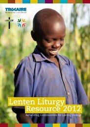Lenten Liturgy Resource 2012 - Diocese of Kerry