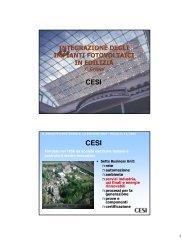 integrazione degli impianti fotovoltaici in edilizia - Sunsim.it