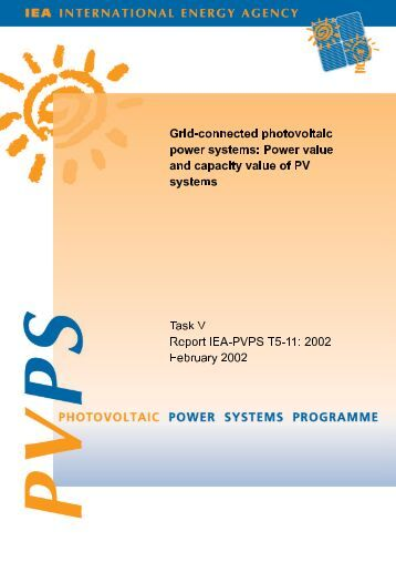 Grid-connected photovoltaic power systems - Sunsim.it