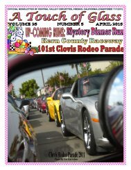 Central Valley Corvettes - April Newsletter