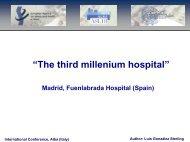 Sin título de diapositiva - l'Ospedale nel Terzo millennio