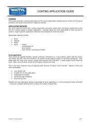 COATING APPLICATION GUIDE - Wattyl Web Customer Service