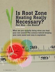 Is Root Zone Necessary? - Lazy Gardener