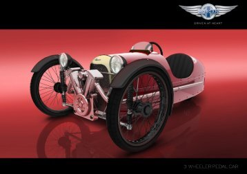 Pedal Car (2.9 Mb) - The Morgan Motor Company