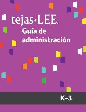 Tejas LEE® Materials - Brookes Publishing Co.