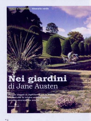 Nei giardini di Jane Austin - Jeanne Perego
