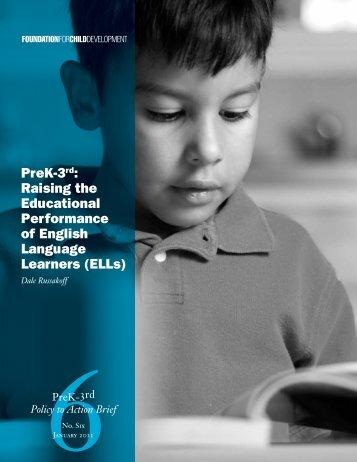 PreK-3rd: Raising the Educational Performance of English ...