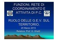 OFV - Lezione del 20 marzo 2013 - Docente Giovanni Ghetti