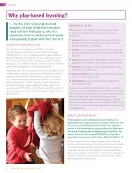 Why play-based learning? - Early Childhood Australia
