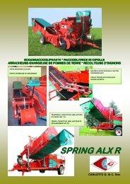 spring alx r spring alx r scavaraccoglipatate ... - Carlotti-g.it