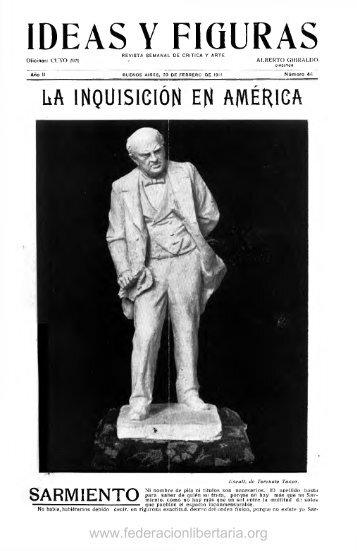 1911, febrero. Año II, nº 44. - Federacion Libertaria Argentina