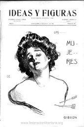1909, agosto. Año I, nº 11. - Federación Libertaria Argentina